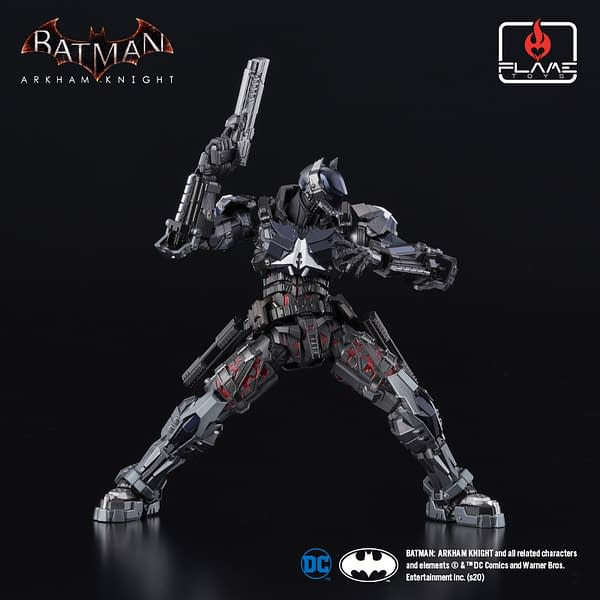 Arkham Knight is Batman's Worst Nightmare with Flame Toys