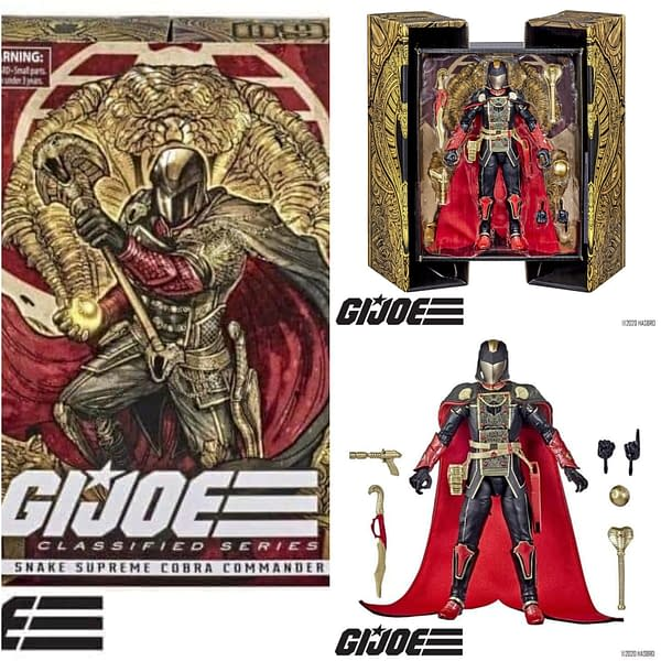 Hasbro Retro GI Joe Line- Exclusive To Walmart, SDCC Commander In Sept