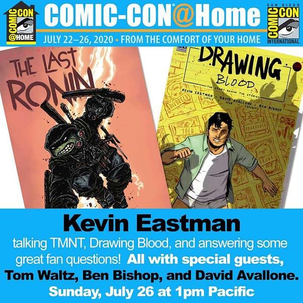 Kevin Eastman Panel Annoucement