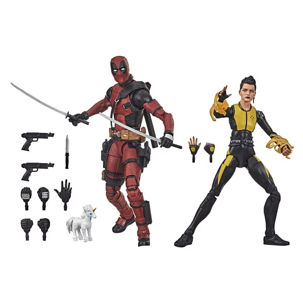 Deadpool Comes Off the Screen with New Marvel Legends Figures