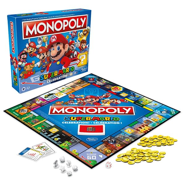 Hasbro Introduces Super Mario Versions Of Jenga & Monopoly