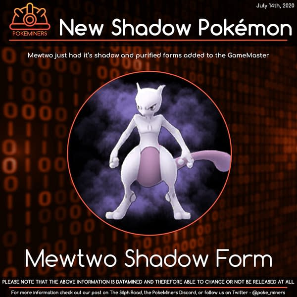 Shadow Mewtwo preview. Credit: Silph Road's Pokeminers.