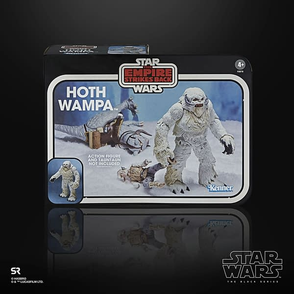Star Wars Hasbro Gets Frosty with Black Series Wampa