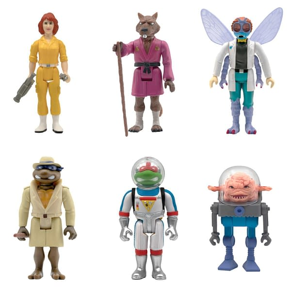 Super7 Reveals Wave 2 TMNT ReAction Figures, Avai