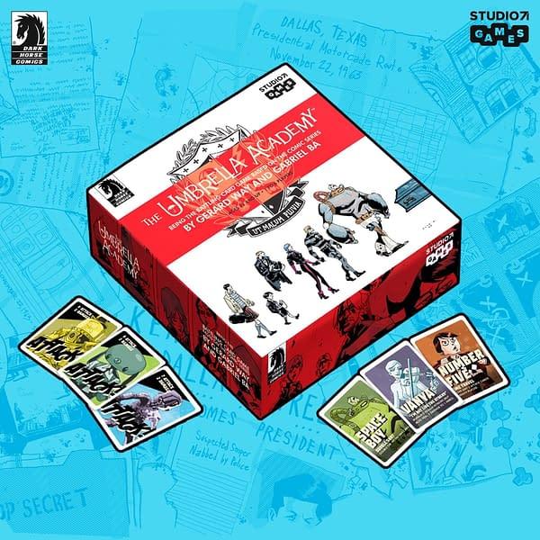 Dark Horse & Studio 71 Reveal The Umbrella Academy Card Game