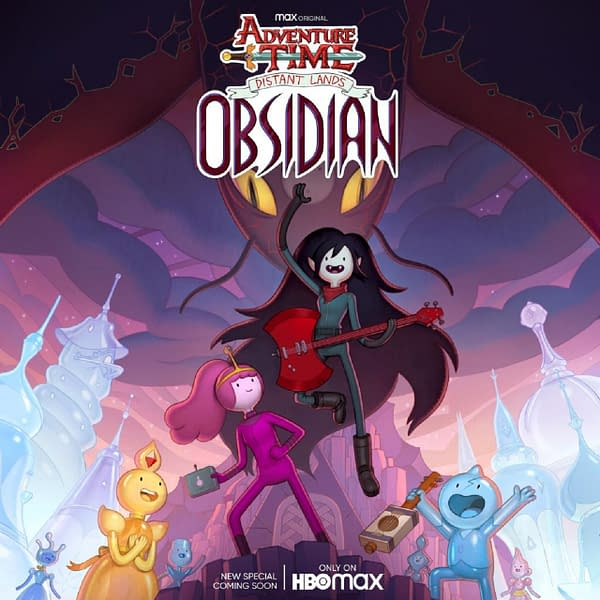 "Adventure Time: Distant Lands presents ""Obsidian"" (Image: HBO Max)"