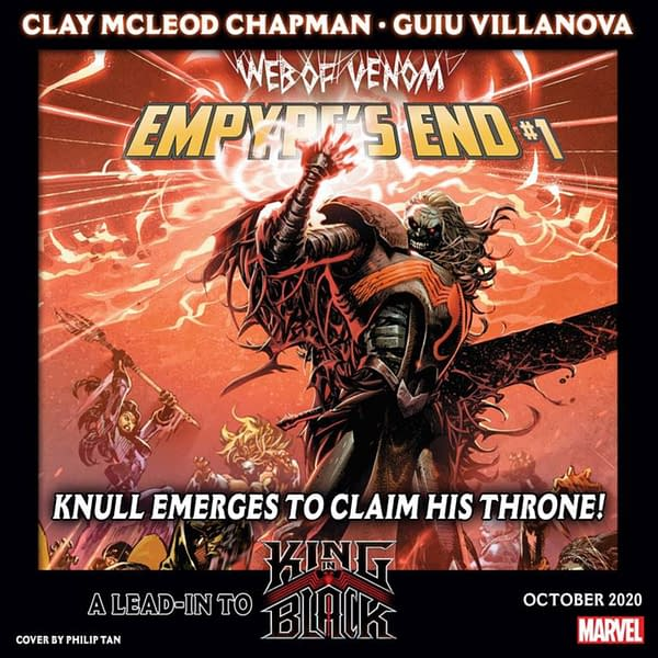 Marvel Joins Up Empyre and Knull With Web Of Venom: Empyre's End.