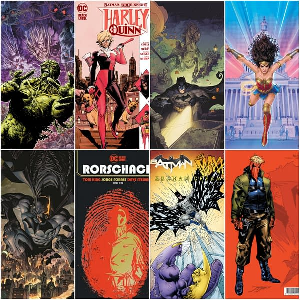 Batman #100 and Rorschach #1 Lead DC Comics October 2020 Solicitations.