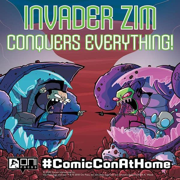 Invader ZIM Comic-Con@Home promo art. Credit: Oni Press.