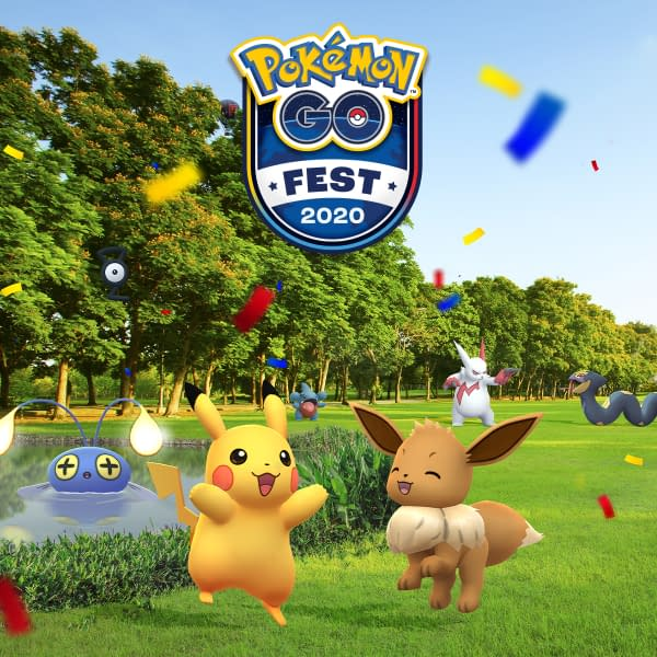 GO Fest 2020 Make-up Day is August 16 in Pokémon GO. Credit: Niantic.