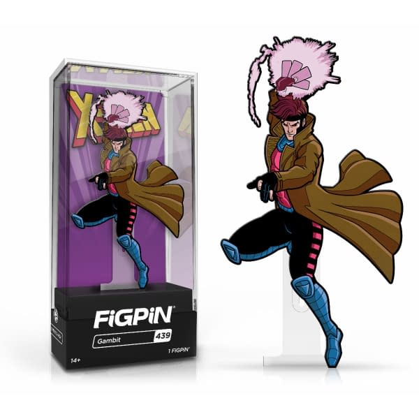 The X-Men Animated Cartoon Are the Newest FiGPiN Arrivals