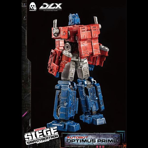 Transformers Optimus Prime Gets New Figure from Hasbro/Threezero
