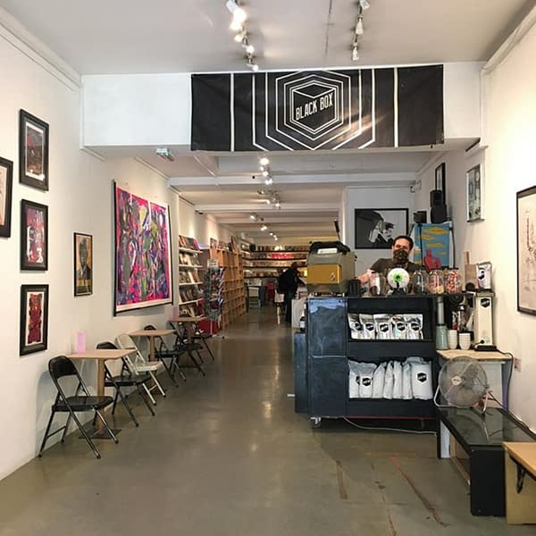 Orbital Comics of London Reopens With a Barista and a 50% Sale