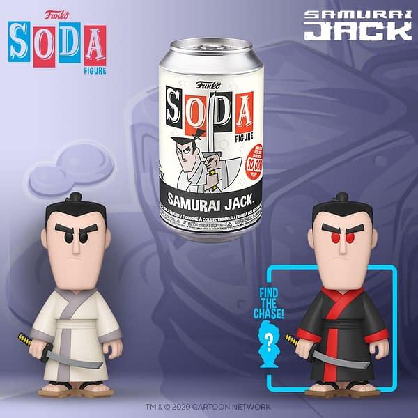 New Funko Soda: Samurai Jack, Shredder, Chucky and More
