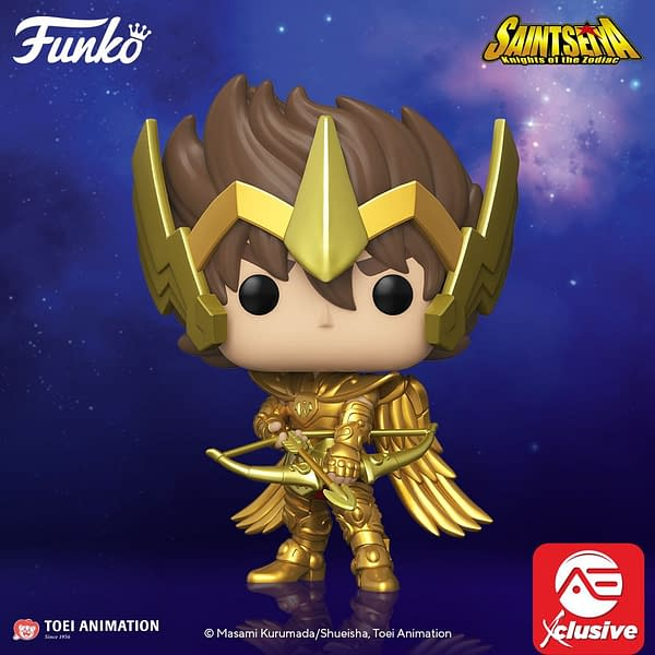Funko Announces Anime Saint Seiya Pop Vinyls