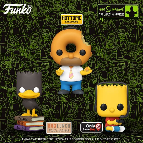 Simpsons Treehouse of Terror Returns with New Funko Pops