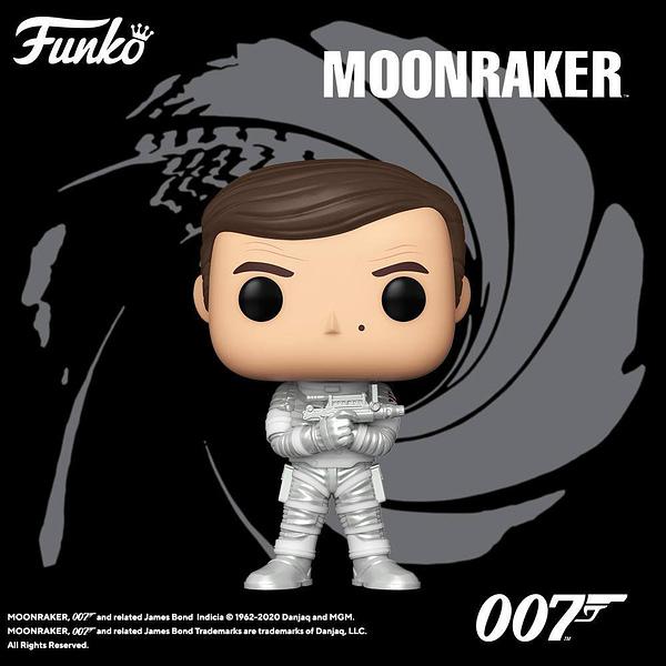 Funko Announces New Wave of James Bond Pop Vinyls