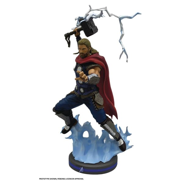 Marvel's Avengers Gets New Gamerverse Statues from PCS Collectibles