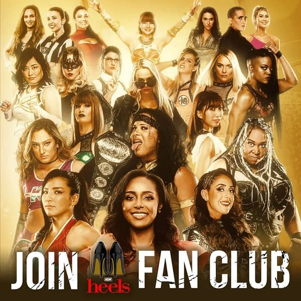 Membership in AEW's female-focused fan club AEW Heels costs $49 a year.