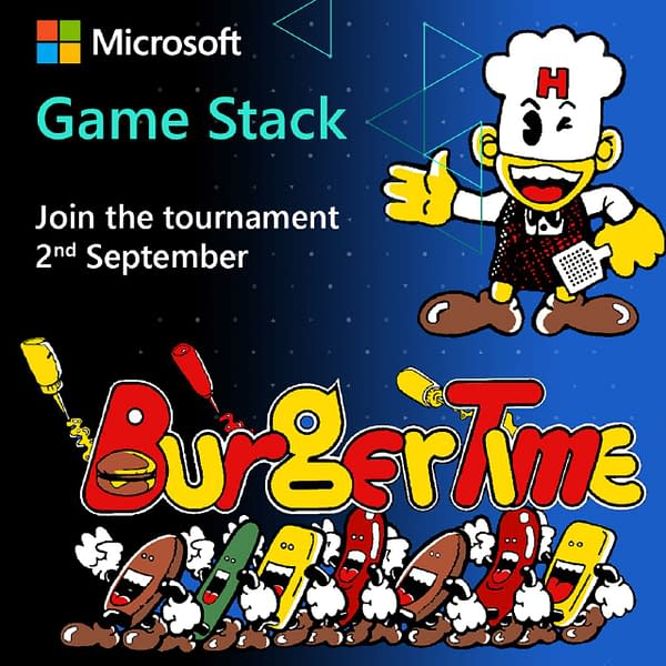 Time to get back on the grill, literally, and make some burgers in this tourney. Courtesy of Antstream Arcade.