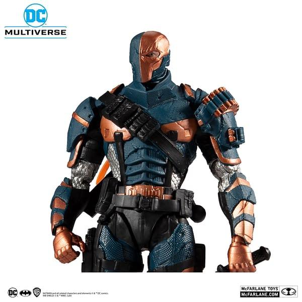 McFarlane Toys DC Multiverse Cyborg and Arkham Origins Live
