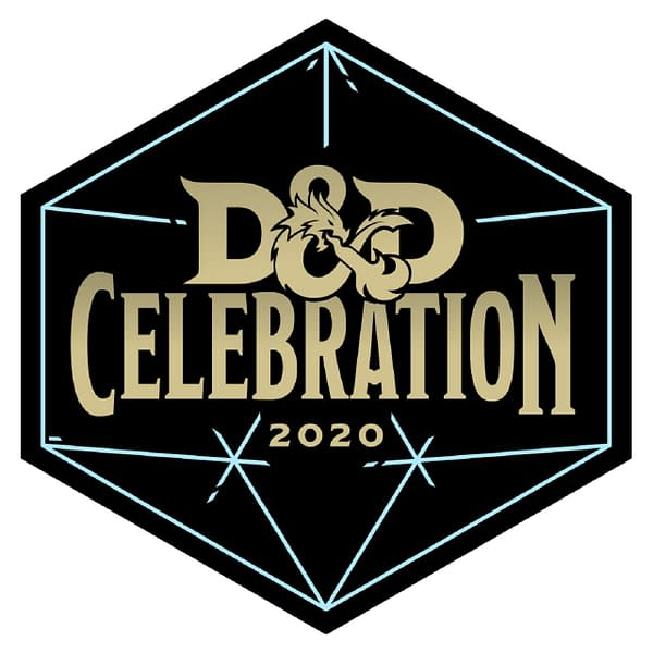The logo for D&D Celebration 2020, courtesy of Wizards of the Coast.