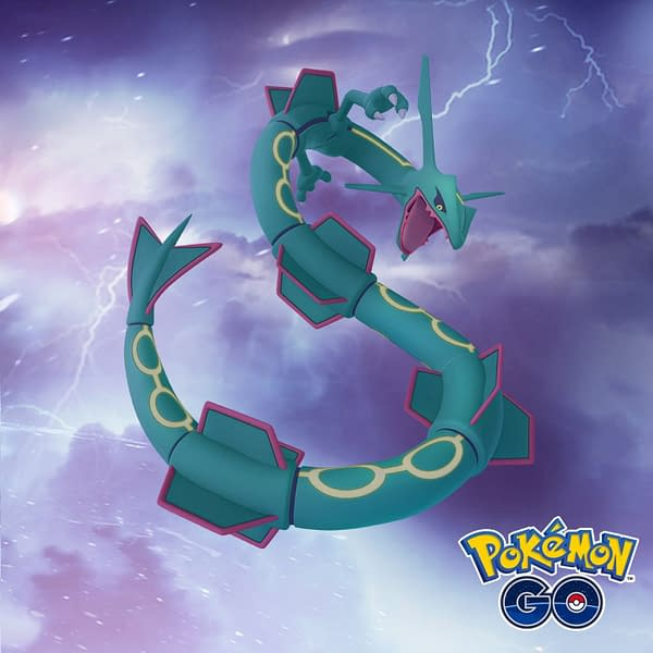 Dragon Week in Pokémon GO. Credit: Niantic