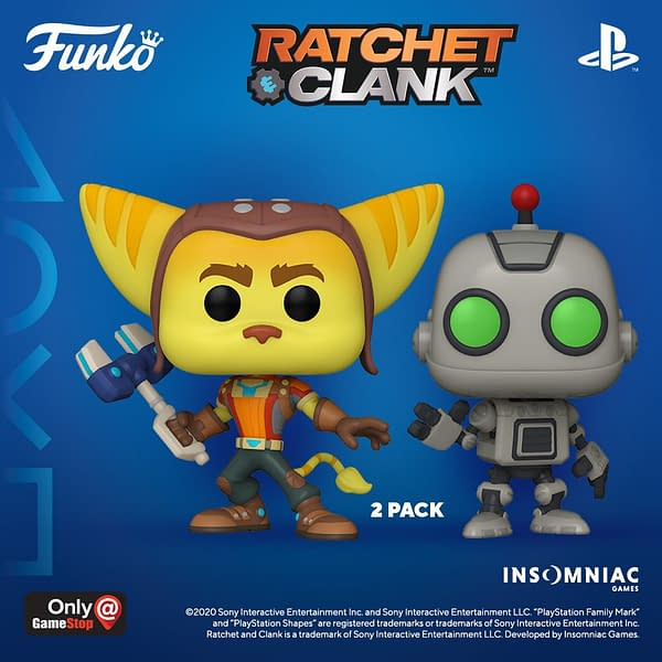 Funko and PlayStation Pops - Death Stranding, Ratchet & Clank, and More.