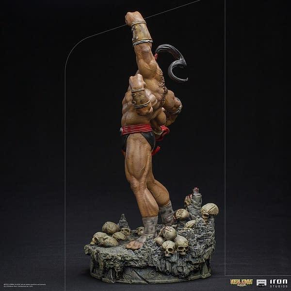 Mortal Kombat Goro Wants His Fatality With Iron Studios