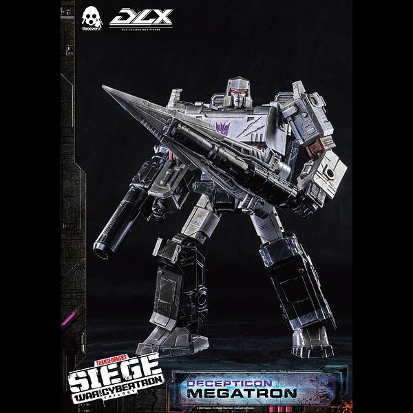 Transformers Decepticon Leader Megatron Arrives with Hasbro/Threezero