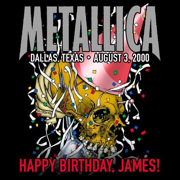 Metallica Mondays Celebrates James Hetfield's Birthday This Week