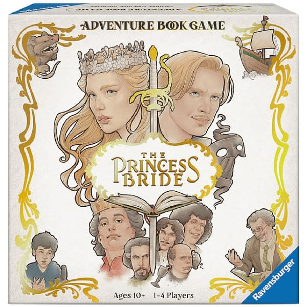 A look at the box art for the game, courtesy of Ravensburger.