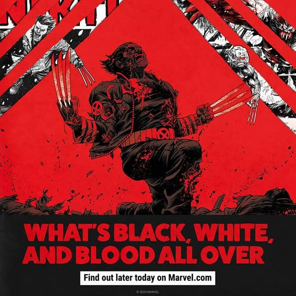 Now Wolverine is Black, White and Red All Over, Too