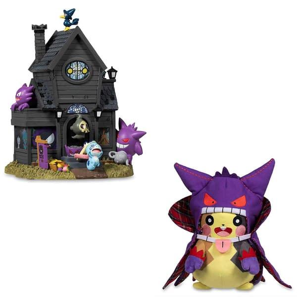 Pokémon Center Unveils 2020 Halloween Collection. Credit: The Pokémon Center