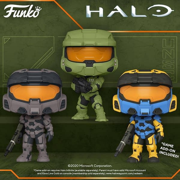 Halo Infinite Gets It's Own Wave of Pop Vinyls from Funko