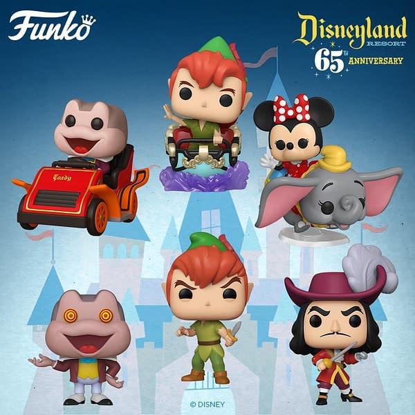 Funko Announces Second Wave of Disneyland 65th Anniversary Pops