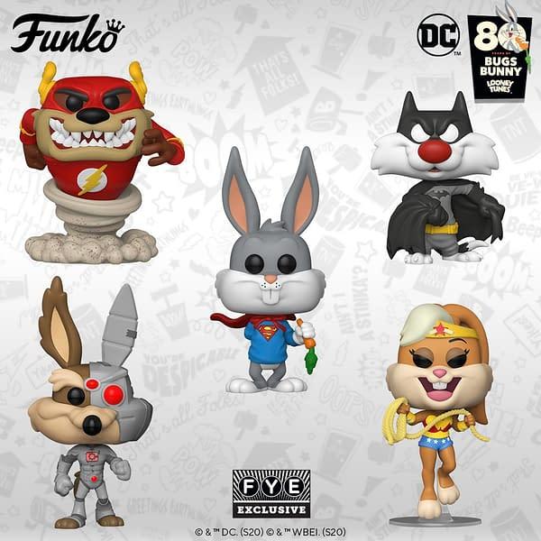 Funko Announces Looney Tunes and DC Comics Crossover Pops