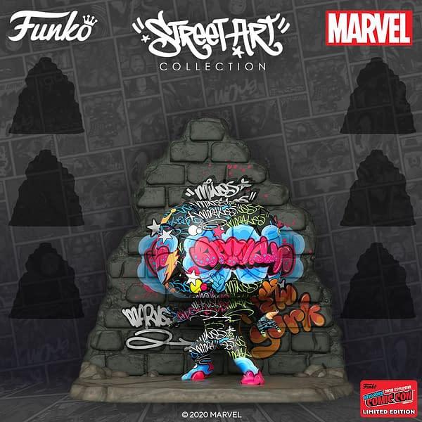 Funko NYCC 2020 Reveals - Street Artist Marvel