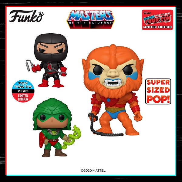 Funko NYCC 2020 Reveals - Masters of the Universe