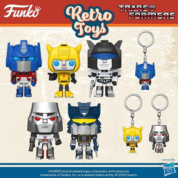 Transformers Get Poppin' as Funko Announces New Wave of Retro Pops