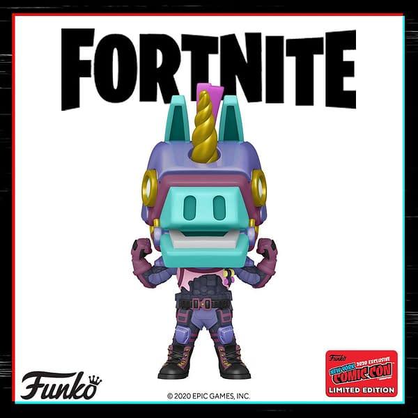 Funko NYCC 2020 Game Reveals - Pokemon and Fortnite