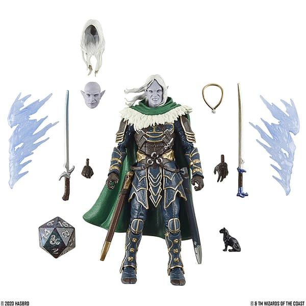 Dungeons & Dragons Drizzt and Guenhwyver Figures Revealed by Hasbro