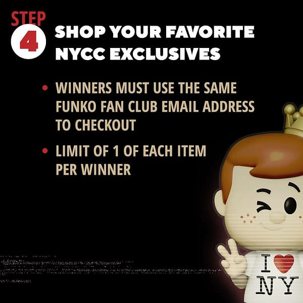 Funko Announces Lottery System for NYCC Virtual Con IV