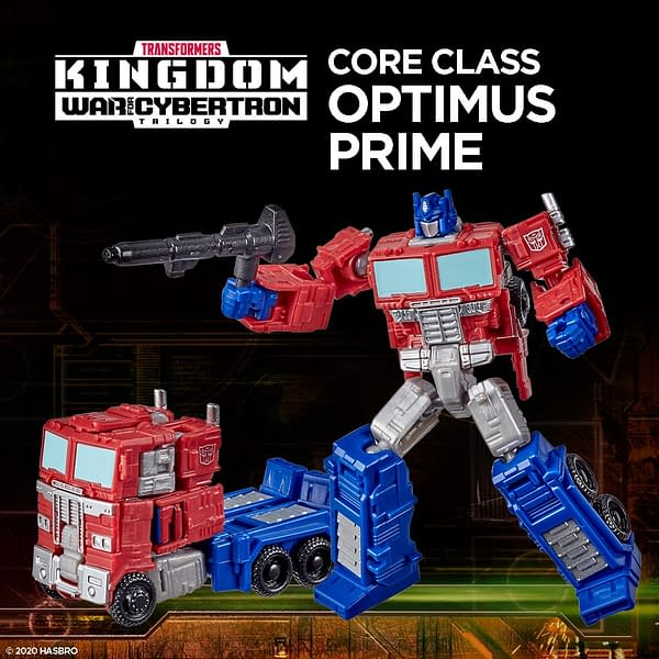 Transformers War for Cybertron Kingdom Full Reveal from Hasbro