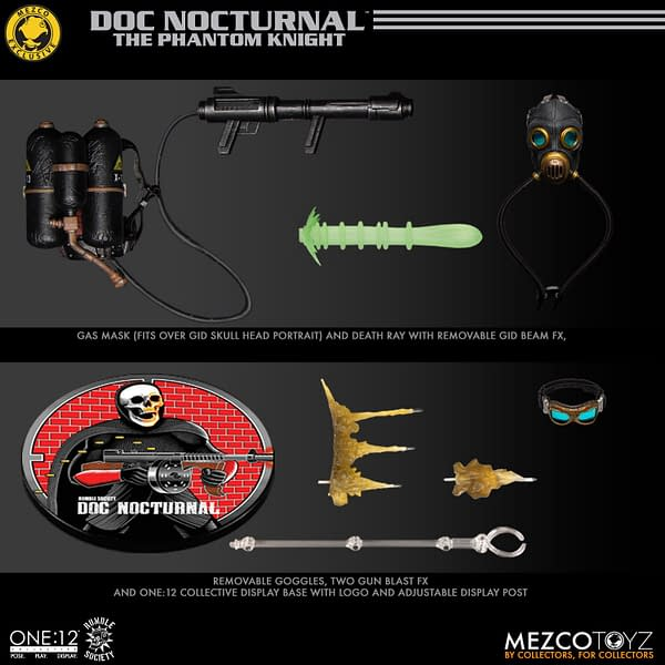 Mezco Toyz Unveils the One:12 Mystery Man Doc Noctura