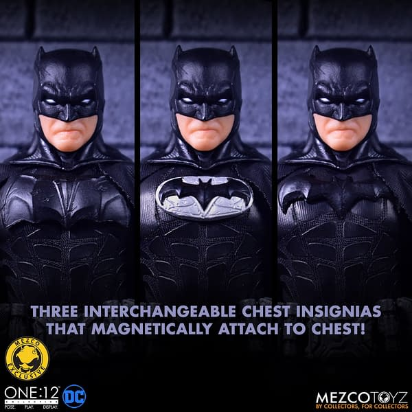 Mezco Toyz Unleashes Shadow Edition Batman on Batman Day