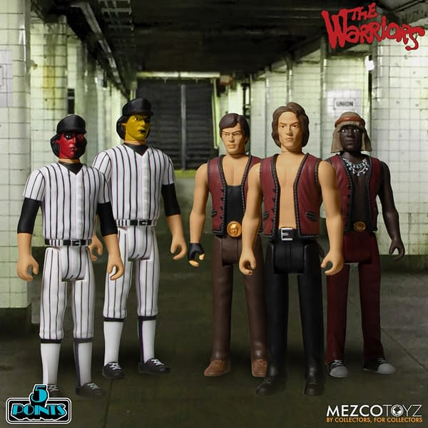 The Warriors Are Back With 5 Point Figures from Mezco Toyz