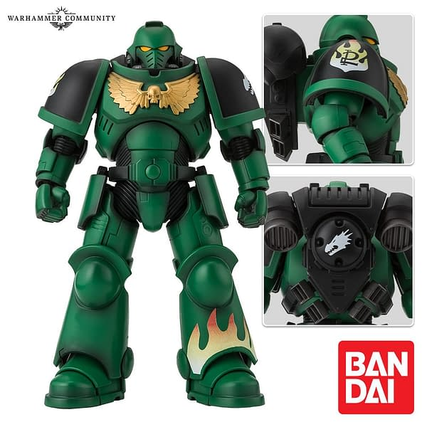 New Warhammer 40,000 Space Marines Reporting for Duty with Bandai