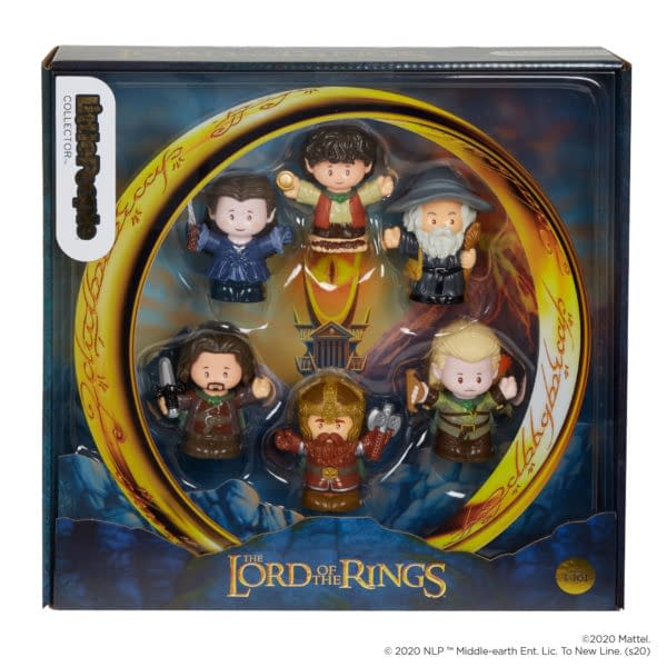 Fisher-Price Little People Collectors Sets LOTR and Elf Revealed