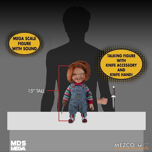 Chucky Arrives with New Child's Play 2 Talking Figure from Mezco Toyz